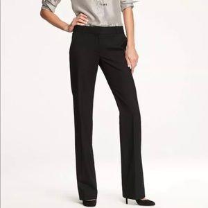 J. Crew 1035 Black Super 120's Wool Pants #27685